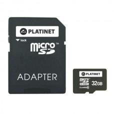 Card memorie microSD 32GB cu adaptor SD